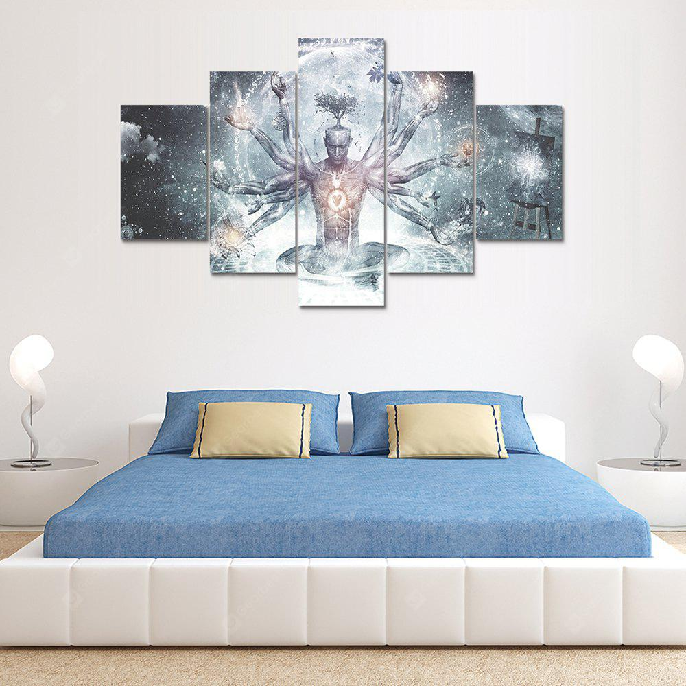 Zen-cameron Canvas Print Painting Home Decoration Wall Art Picture 5 Panel