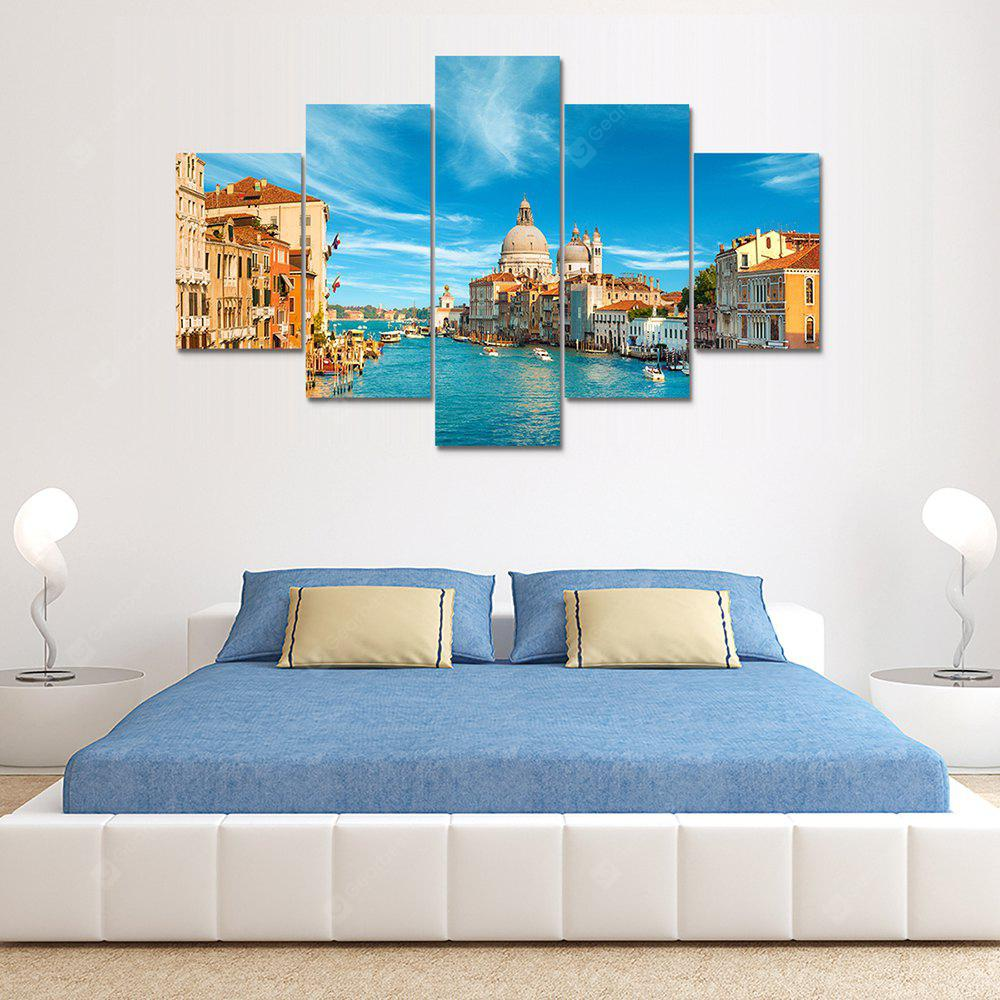 Venice Italy Canvas Print Painting Home Decoration Wall Art Picture 5 Panel