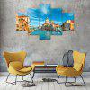Venice Italy Canvas Print Painting Home Decoration Wall Art Picture 5 Panel - COLORMIX