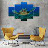 Turtles Canvas Print Painting Home Decoration Wall Art Picture 5 Panel - COLORMIX