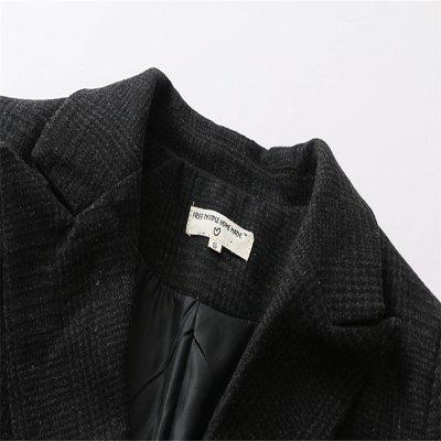 2017 New Ladies Dark Double Breasted Plaid SuitJackets &amp; Coats<br>2017 New Ladies Dark Double Breasted Plaid Suit<br><br>Closure Type: Double Breasted<br>Clothes Type: Wool &amp; Blends<br>Collar: Turn-down Collar<br>Elasticity: Micro-elastic<br>Embellishment: Pattern<br>Fabric Type: Worsted<br>Material: Wool, Cotton, Cashmere<br>Package Contents: 1 x Overcoat<br>Pattern Type: Plaid<br>Shirt Length: Regular<br>Sleeve Length: Full<br>Style: Fashion<br>Type: Slim<br>Weight: 0.8000kg<br>With Belt: No