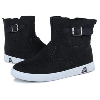 """Mens Warm Fashion BootsMens Boots<br>Mens Warm Fashion Boots<br><br>Boot Height: Ankle<br>Boot Type: Fashion Boots<br>Closure Type: Buckle Strap<br>Embellishment: Buckle<br>Gender: For Men<br>Heel Hight: Flat(0-0.5"""")<br>Heel Type: Flat Heel<br>Outsole Material: Rubber<br>Package Contents: 1 x Shoes (pair)<br>Pattern Type: Others<br>Season: Winter, Spring/Fall<br>Toe Shape: Round Toe<br>Upper Material: PU<br>Weight: 1.5120kg"""