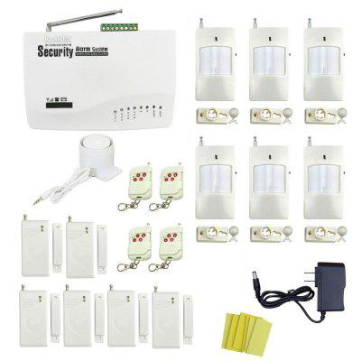Global Universal Wireless GSM Home Security Alarm System