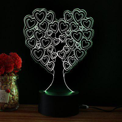 M.Sparkling TD021 Creative ValentineS Day 3D LED Lamp3D Lamps<br>M.Sparkling TD021 Creative ValentineS Day 3D LED Lamp<br><br>Brand: M.Sparkling<br>Feature: Rechargeable<br>Light Source Color: RGB<br>Package Content: 1 x Acrylic Board, 1 x ABS Pedestal, 1 x USB Cable, 1 x English Manual<br>Package Size ( L x W x H ): 24.00 x 17.00 x 5.00 cm / 9.45 x 6.69 x 1.97 inches<br>Product Size(L x W x H): 15.00 x 22.00 x 8.50 cm / 5.91 x 8.66 x 3.35 inches<br>Type: Valentines<br>Voltage (V): 5V