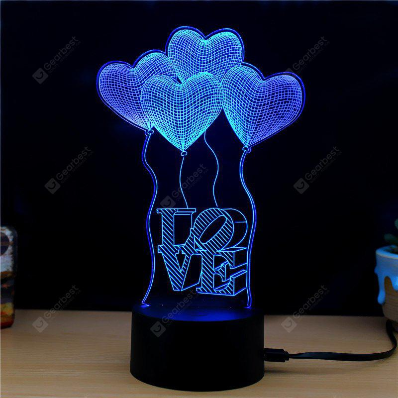 M.Sparkling TD092 Creative abstract 3D LED Lamp