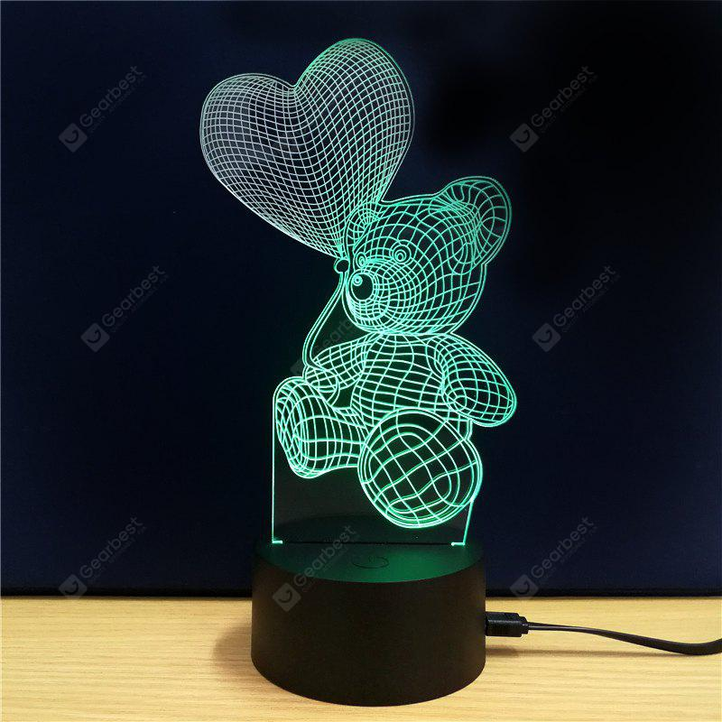 M.Sparkling TD106 Creative abstract 3D LED Lamp