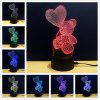 M.Sparkling TD106 Creative abstract 3D LED Lamp - COLORFUL