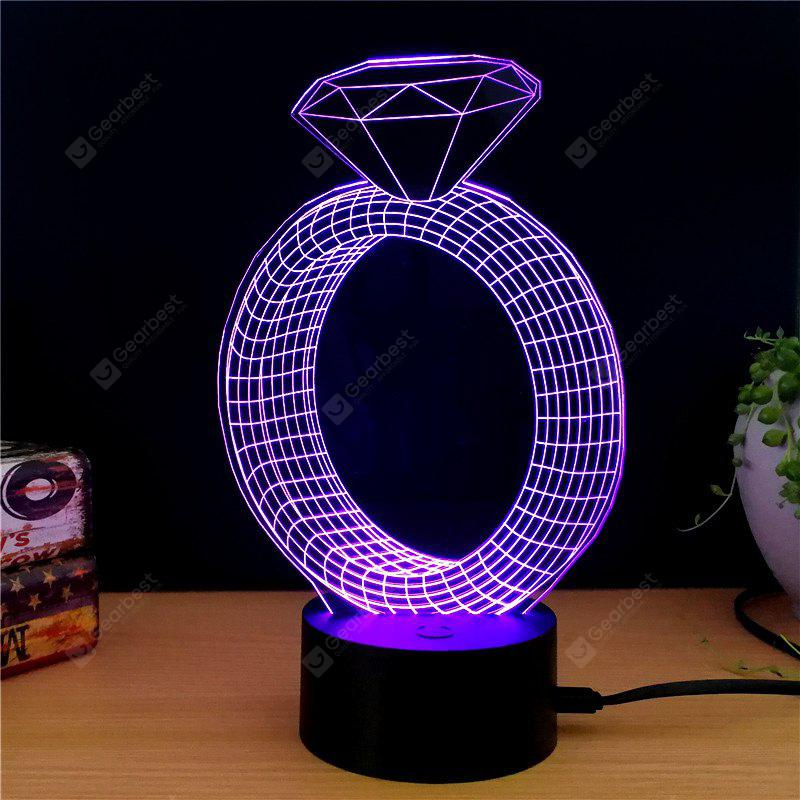M.Sparkling TD146 Creative abstract 3D LED Lamp