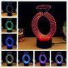 M.Sparkling TD146 Creative abstract 3D LED Lamp - COLORFUL