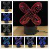 M.Sparkling TD197 Creative Abstract 3D LED Lamp - COLORFUL