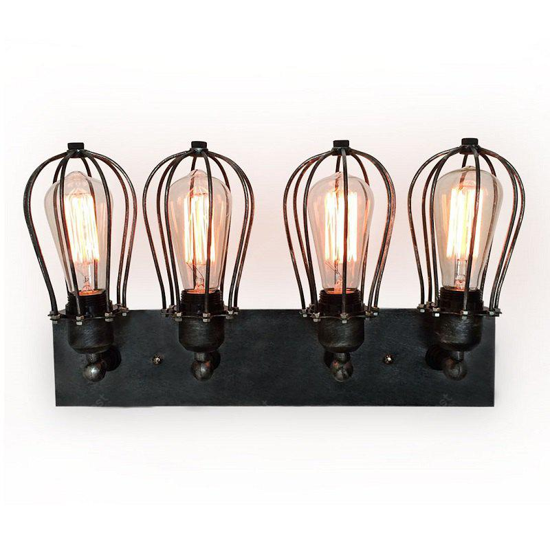 S4001 Factory Direct Hot Industrial Cage Wall Lamp Vintage Many-headed  New DesignWall Sconce