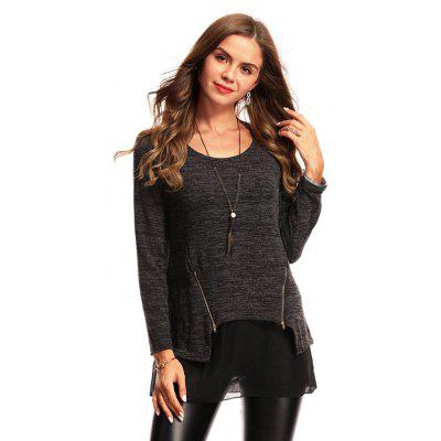 Fashionable Loose Long Sleeve Pullover