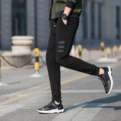 Men Wear Comfortable PantsMens Pants<br>Men Wear Comfortable Pants<br><br>Fit Type: Loose<br>Front Style: Flat<br>Material: Cotton<br>Package Contents: 1 x Sports Pants<br>Pant Length: Long Pants<br>Pant Style: Pencil Pants<br>Style: Active<br>Waist Type: Mid<br>Weight: 0.5000kg