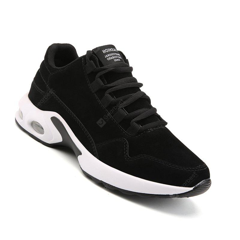 Hommes Casual Fashion Air cuir couture fil chaussures à lacets taille 39-44