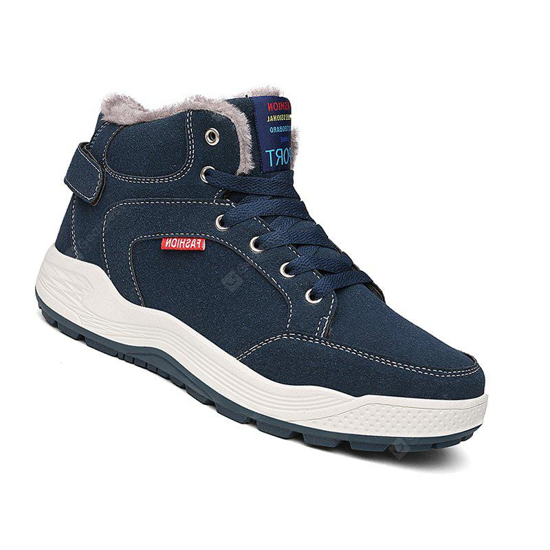 Men Shoes Mountain Outdoor Big Size Hiking High-Top Suede Boots Hiking Sneakers