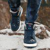 Men Shoes Mountain Outdoor Big Size Hiking High-Top Suede Boots Hiking Sneakers - GREEN