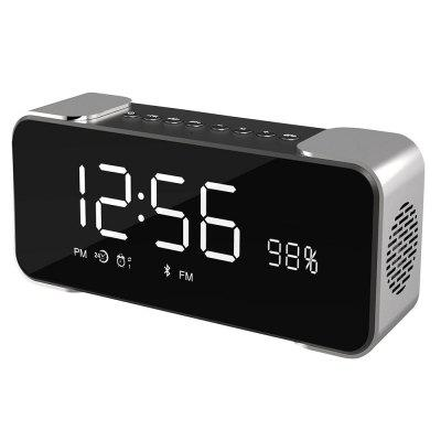 SDH - 4000 Portable Wireless Stereo Speaker with Alarm Clock