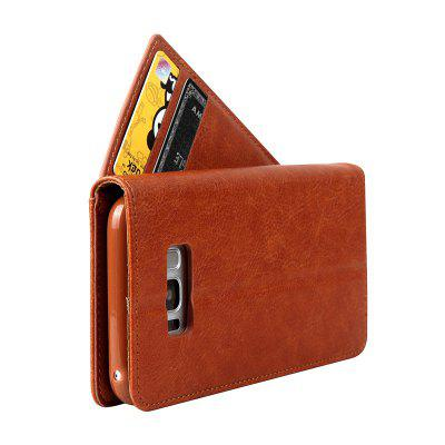 Rotate The Card Lanyard Pu Leather for Samsung Galaxy S8Samsung S Series<br>Rotate The Card Lanyard Pu Leather for Samsung Galaxy S8<br><br>Color: Black,Red,Blue,Brown,Gray<br>Features: Full Body Cases, Cases with Stand, With Credit Card Holder<br>For: Samsung Mobile Phone<br>Material: PU Leather, TPU<br>Package Contents: 1 x Case<br>Package size (L x W x H): 16.00 x 8.00 x 2.00 cm / 6.3 x 3.15 x 0.79 inches<br>Package weight: 0.0900 kg<br>Product size (L x W x H): 15.00 x 7.80 x 1.60 cm / 5.91 x 3.07 x 0.63 inches<br>Product weight: 0.0860 kg<br>Style: Vintage/Nostalgic Euramerican Style, Novelty, Name Brand Style