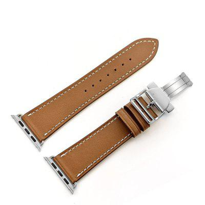 Deployment Buckle Single Tour Genuine Leather Band for Apple Watch Series 3 Series 2 Series 1 42MMSmart Watch Accessories<br>Deployment Buckle Single Tour Genuine Leather Band for Apple Watch Series 3 Series 2 Series 1 42MM<br><br>Color: Brown,Coffee<br>Material: Genuine Leather<br>Package Contents: 1 x Band<br>Package size: 18.00 x 8.00 x 5.00 cm / 7.09 x 3.15 x 1.97 inches<br>Package weight: 0.1200 kg