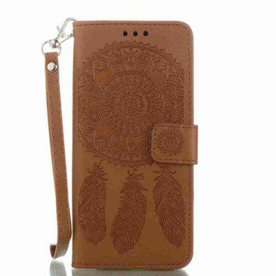 Buy Embossing Campanula PU Phone Case for Samsung Galaxy S8, BROWN, Mobile Phones, Cell Phone Accessories, Samsung Accessories, Samsung S Series for $8.80 in GearBest store