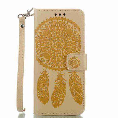 Buy Embossing Campanula PU Phone Case for Samsung Galaxy S8, MARIGOLD, Mobile Phones, Cell Phone Accessories, Samsung Accessories, Samsung S Series for $8.80 in GearBest store