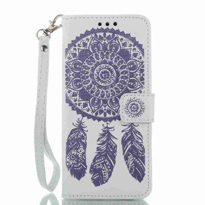 Buy Embossing Campanula PU Phone Case for Samsung Galaxy S8, WHITE + PURPLE, Mobile Phones, Cell Phone Accessories, Samsung Accessories, Samsung S Series for $8.80 in GearBest store