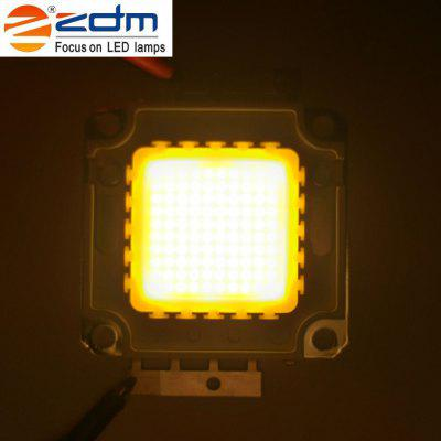 ZDM High Bright LED Light Lamp Chip Bead DC 30 - 36VLED Accessories<br>ZDM High Bright LED Light Lamp Chip Bead DC 30 - 36V<br><br>Available Light Color: Warm White<br>Beam Angle: 120<br>Body Material: Aluminum<br>Color Temperature: 3000 - 3200K<br>Current: 20W(0.6A) / 30W(0.9A) / 50W(1.5A) / 100W(3A)<br>Luminous Surface: 2.6 x 2.6 cm<br>Package Contents: 1 x LED High-power Lamp Bead<br>Package size (L x W x H): 10.00 x 8.00 x 0.50 cm / 3.94 x 3.15 x 0.2 inches<br>Package weight: 0.0290 kg<br>Power: 20W<br>Product weight: 0.0270 kg<br>Voltage: 30 - 36V