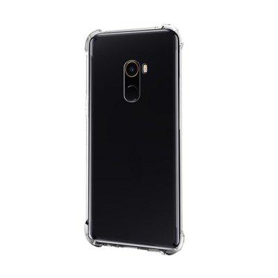 Extreme Heavy Duty Protective Soft Rubber TPU Bumper Case Anti-Scratch Shockproof Rugged Protection Clear Transparent Back Cover for Mi MIX 2
