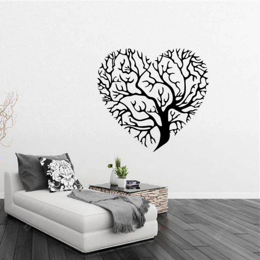 BLACK, Home & Garden, Home Decors, Wall Art, Wall Stickers