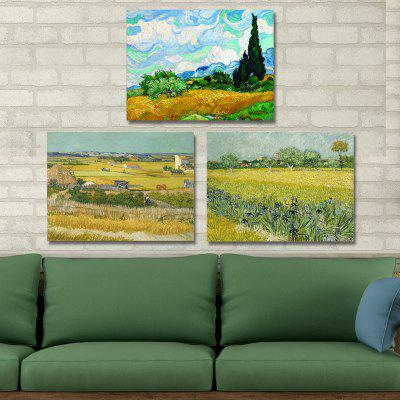 DYC 10238 Impression Landscape Print Art Ready to Hang Painting 3PCSPrints<br>DYC 10238 Impression Landscape Print Art Ready to Hang Painting 3PCS<br><br>Brand: DYC<br>Craft: Print<br>Form: Three Panels<br>Material: Canvas<br>Package Contents: 1 x Set of Print Arts<br>Package size (L x W x H): 34.00 x 44.00 x 8.00 cm / 13.39 x 17.32 x 3.15 inches<br>Package weight: 1.3000 kg<br>Painting: Include Inner Frame<br>Product size (L x W x H): 30.00 x 40.00 x 6.00 cm / 11.81 x 15.75 x 2.36 inches<br>Product weight: 0.9000 kg<br>Shape: Horizontal Panoramic<br>Style: Scenery / Landscape, Landscape<br>Subjects: Landscape<br>Suitable Space: Living Room,Office,Study Room / Office