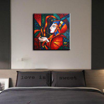 YHHP Hand-Painted Abstract Character Canvas Oil Painting for Home DecorationOil Paintings<br>YHHP Hand-Painted Abstract Character Canvas Oil Painting for Home Decoration<br><br>Brand: YHHP<br>Craft: Oil Painting<br>Form: One Panel<br>Material: Canvas<br>Package Contents: 1 x Oil Painting<br>Package size (L x W x H): 92.00 x 5.00 x 5.00 cm / 36.22 x 1.97 x 1.97 inches<br>Package weight: 0.3000 kg<br>Painting: Without Inner Frame<br>Product size (L x W x H): 80.00 x 80.00 x 1.00 cm / 31.5 x 31.5 x 0.39 inches<br>Product weight: 0.2500 kg<br>Shape: Square<br>Style: Artistic Style<br>Subjects: People<br>Suitable Space: Bedroom,Living Room,Study Room / Office