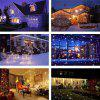 SUPli Christmas LED Snowfall Waterproof Projector Light  with Wireless Remote Controller for Outdoor - WHITE