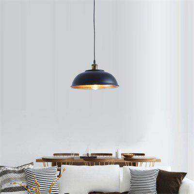 Brightness Pendant light Industry Metal for Dining RoomPendant Light<br>Brightness Pendant light Industry Metal for Dining Room<br><br>Brand: Brightness<br>Bulb Base: E26,E27<br>Bulb Included: No<br>Bulb Type: Incandescent,LED<br>Chain / Cord Adjustable or Not: Chain / Cord Adjustable<br>Chain / Cord Length ( CM ): 100<br>Features: Mini Style, Wrought Iron<br>Finish: Paint<br>Fixture Height ( CM ): 16<br>Fixture Length ( CM ): 33<br>Fixture Material: Metal<br>Fixture Width ( CM ): 33<br>Light Direction: Downlight<br>Number of Bulb Sockets: 1<br>Package Contents: 1 x Light, 1 x Assembly Part<br>Package size (L x W x H): 35.00 x 35.00 x 14.00 cm / 13.78 x 13.78 x 5.51 inches<br>Package weight: 1.4000 kg<br>Product weight: 0.9000 kg<br>Shade Material: Metal<br>Style: Vintage antique, Country, Simple Style<br>Suggested Room Size: 0 - 5?<br>Suggested Space Fit: Bedroom,Cafes,Dining Room,Entry,Game Room,Garage,Hallway,Indoors,Kitchen,Living Room,Office,Study Room<br>Type: Ceiling Light, Pendant Light<br>Voltage ( V ): 220 - 240<br>Wattage per Bulb ( W ): 60