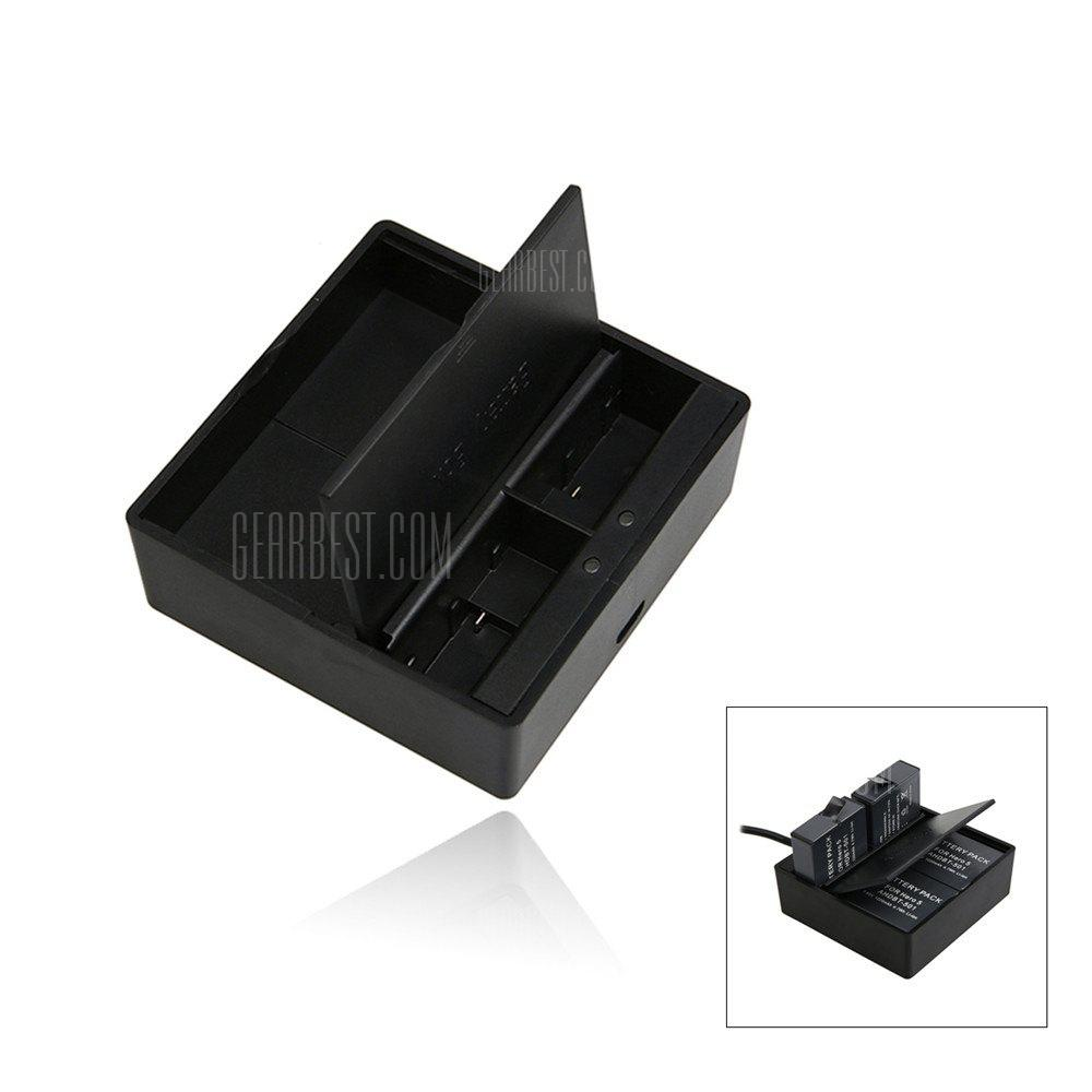 Dual Battery Charger with Battery Box for Gopro Hero 5 / 6