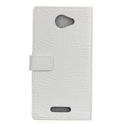 KaZiNe Crocodile Texture Wallet Stand Leather Cover for BQ U/U LiteCases &amp; Leather<br>KaZiNe Crocodile Texture Wallet Stand Leather Cover for BQ U/U Lite<br><br>Compatible Model: BQ U/U Lite<br>Features: Full Body Cases, Cases with Stand, With Credit Card Holder, Anti-knock<br>Material: TPU, PU Leather<br>Package Contents: 1 x Phone Case<br>Package size (L x W x H): 17.00 x 8.50 x 1.60 cm / 6.69 x 3.35 x 0.63 inches<br>Package weight: 0.0900 kg<br>Style: Solid Color