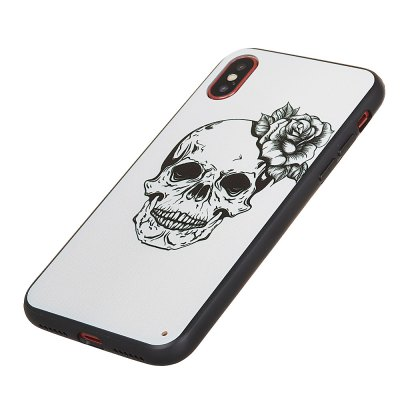 KaZiNe Azine Embossment Tpu + Pc Cell Phone Skull Flower Case for Iphone XiPhone Cases/Covers<br>KaZiNe Azine Embossment Tpu + Pc Cell Phone Skull Flower Case for Iphone X<br><br>Compatible for Apple: iPhone X<br>Features: Back Cover, Anti-knock, Dirt-resistant<br>Material: TPU, Plastic<br>Package Contents: 1 x Phone Case<br>Package size (L x W x H): 14.00 x 7.00 x 1.00 cm / 5.51 x 2.76 x 0.39 inches<br>Package weight: 0.0230 kg<br>Style: 3D Print, Skull