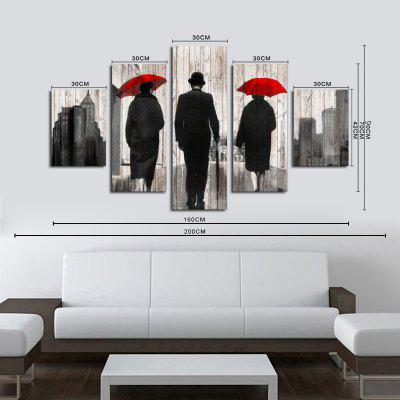 QiaoJiaHuaYuan No Frame Canvas Five-set Painting with Umbrella Characters backPrints<br>QiaoJiaHuaYuan No Frame Canvas Five-set Painting with Umbrella Characters back<br><br>Brand: Qiaojiahuayuan<br>Craft: Print<br>Form: Five Panels<br>Material: Canvas<br>Package Contents: 5 x Print<br>Package size (L x W x H): 42.00 x 5.00 x 5.00 cm / 16.54 x 1.97 x 1.97 inches<br>Package weight: 0.4000 kg<br>Painting: Without Inner Frame<br>Product weight: 0.3900 kg<br>Shape: Vertical Panoramic<br>Style: Modern/Contemporary<br>Subjects: Still Life<br>Suitable Space: Bedroom,Living Room,Office