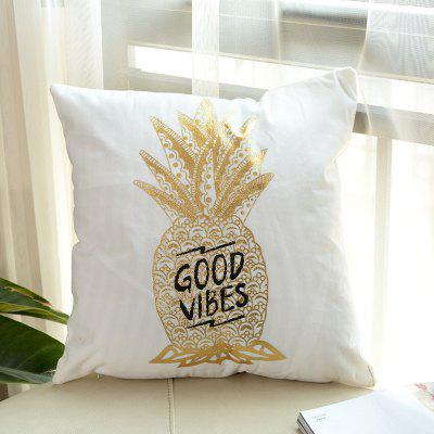 Soft Pineapple Pattern Decorative Pillow Case 1PCPillow<br>Soft Pineapple Pattern Decorative Pillow Case 1PC<br><br>Category: Pillow Case<br>For: All<br>Material: Others<br>Occasion: Office, Living Room, Bedroom<br>Package Contents: 1 x Pillow Case<br>Package size (L x W x H): 45.00 x 25.00 x 2.00 cm / 17.72 x 9.84 x 0.79 inches<br>Package weight: 0.1200 kg<br>Product size (L x W x H): 45.00 x 45.00 x 1.00 cm / 17.72 x 17.72 x 0.39 inches<br>Product weight: 0.1000 kg