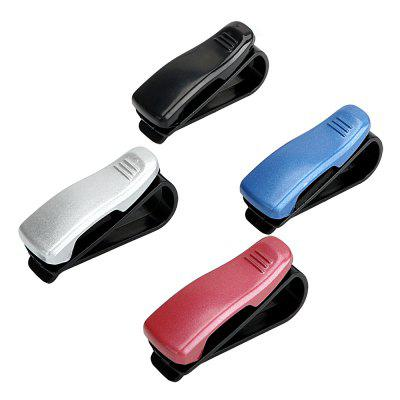 Multi-functional Portable Car Glasses Notes Holder Ticket Folder