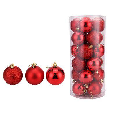 WS 24PCS/PACK Hot Christmas Tree Ornaments Multi-color Ball 6CM Plastic Gift for Xmas Holiday DecorationChristmas Supplies<br>WS 24PCS/PACK Hot Christmas Tree Ornaments Multi-color Ball 6CM Plastic Gift for Xmas Holiday Decoration<br><br>For: All, Kids, Others<br>Material: Plastic, PVC<br>Package Contents: 24 x Christmas Ball<br>Package Quantity: 24 x Christmas Ball<br>Package size (L x W x H): 57.00 x 57.00 x 84.00 cm / 22.44 x 22.44 x 33.07 inches<br>Package weight: 0.6500 kg<br>Product size (L x W x H): 8.00 x 8.00 x 8.00 cm / 3.15 x 3.15 x 3.15 inches<br>Product weight: 0.6000 kg<br>Usage: Halloween, Wedding, Valentine Gift, Christmas, Party, Others, Stage
