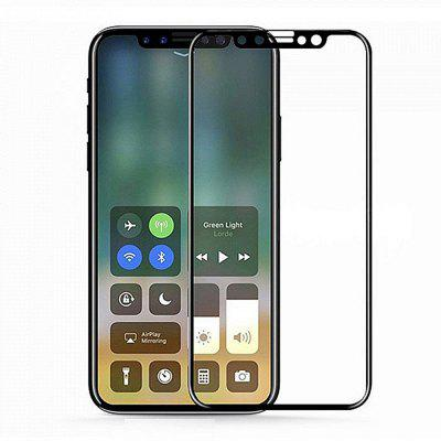 Gearbest Minismile 0.2mm 9H Hardness 2.5D Full Screen Coverage Tempered Glass Screen Protector for iPhone X