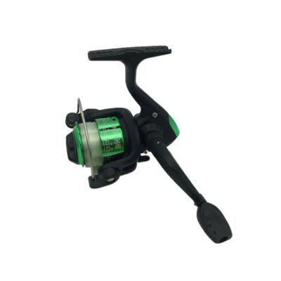 Outdoors Spinning Wheel Type Fishing Reel Plating Hairtail Line 80 Meters