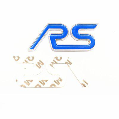 Car RS Front And Back Metal Sport Label Suit Red / BlueOther  Motorcycle Accessories<br>Car RS Front And Back Metal Sport Label Suit Red / Blue<br><br>Material: Metal<br>Package Contents: 1 x RS Front Label, 1 x RS After Label,  1 x Double Faced Adhesive Tape, 2 x Screws, 2 x Nuts, 2 x Fixed Clips<br>Package size (L x W x H): 13.50 x 8.00 x 1.00 cm / 5.31 x 3.15 x 0.39 inches<br>Package weight: 0.0880 kg<br>Product size (L x W x H): 9.50 x 3.80 x 0.60 cm / 3.74 x 1.5 x 0.24 inches<br>Product weight: 0.0850 kg