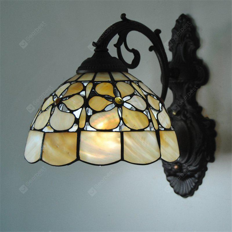 COLORMIX Modern Art Nordic Shell Patch Lamp Shade Lustre Vanity Wall Light Fixtures Living Room Bathroom Bedroom Bedside Sconces Luminaire BKBD-08