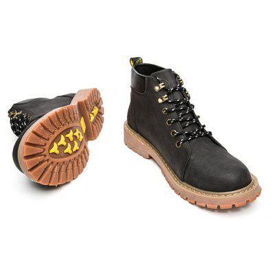 "Mens Soft Toe Waterproof Work BootsMens Boots<br>Mens Soft Toe Waterproof Work Boots<br><br>Boot Height: Ankle<br>Boot Type: Work &amp; Safety<br>Closure Type: Lace-Up<br>Embellishment: None<br>Gender: For Men<br>Heel Hight: Flat(0-0.5"")<br>Heel Type: Flat Heel<br>Outsole Material: Rubber<br>Package Contents: 1 x Shoes (pair)<br>Pattern Type: Others<br>Season: Winter, Spring/Fall<br>Toe Shape: Round Toe<br>Upper Material: PU<br>Weight: 1.7160kg"