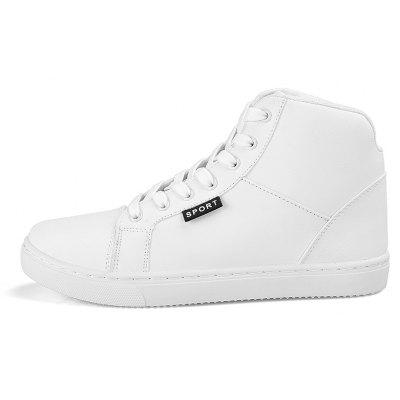 Mens High Top Breathable Fashion Sport Athietic SneakerMen's Sneakers<br>Mens High Top Breathable Fashion Sport Athietic Sneaker<br><br>Available Size: 39-44<br>Closure Type: Lace-Up<br>Feature: Breathable<br>Gender: For Men<br>Outsole Material: Rubber<br>Package Contents: 1 x Shoes (pair)<br>Pattern Type: Others<br>Season: Spring/Fall<br>Upper Material: PU<br>Weight: 1.3200kg