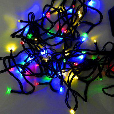 12m 2W Solar Powered 100-LEDs Colorful String Lights
