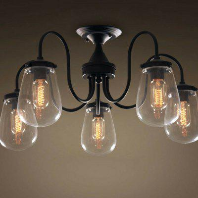 C5002 Vintage Modern Flush Mount Bubble 5 Light Ceiling LampFlush Ceiling Lights<br>C5002 Vintage Modern Flush Mount Bubble 5 Light Ceiling Lamp<br><br>Battery Included: No,Non-preloaded<br>Bulb Base: E26,E27<br>Bulb Included: No<br>Chain / Cord Adjustable or Not: Chain / Cord Adjustable<br>Decoration Material: Glass<br>Dimmable: No<br>Features: Wrought Iron<br>Fixture Height ( CM ): 34<br>Fixture Length ( CM ): 34<br>Fixture Material: Metal<br>Fixture Width ( CM ): 66<br>Number of Bulb: 5 Bulbs<br>Number of Bulb Sockets: 5<br>Package Contents: 1 x Ceiling Light , 1 x Assembly Parts<br>Package size (L x W x H): 67.00 x 67.00 x 30.00 cm / 26.38 x 26.38 x 11.81 inches<br>Package weight: 5.0000 kg<br>Product size (L x W x H): 34.00 x 66.00 x 34.00 cm / 13.39 x 25.98 x 13.39 inches<br>Product weight: 4.5000 kg<br>Remote Control Supported: No<br>Shade Material: Glass<br>Style: Chic &amp; Modern, Simple Style, Nature Inspired, Modern/Contemporary, Artistic Style<br>Suggested Room Size: 30 - 40?<br>Suggested Space Fit: Bedroom,Boys Room,Cafes,Dining Room,Entry,Game Room,Garde,Girls Room,Hallway,Indoors,Kids Room,Kitchen,Living Room,Office,Others,Pathway,Study Room<br>Type: Flush Mount<br>Voltage ( V ): 110V - 220V,220V - 240V<br>Wattage (W): 60W