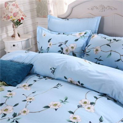 weina 4-piece Cotton Warm Flowers Pattern Bedding SetBedding Sets<br>weina 4-piece Cotton Warm Flowers Pattern Bedding Set<br><br>Brand: weina<br>Category: Bedding Set<br>For: All<br>Material: Cotton<br>Occasion: Bedroom<br>Package Contents: 1 x Quilt Cover, 1 x Bed Sheet, 2 x Pillow Case<br>Package size (L x W x H): 50.00 x 40.00 x 5.00 cm / 19.69 x 15.75 x 1.97 inches<br>Package weight: 2.8000 kg<br>Product weight: 2.5000 kg<br>Type: Eco-friendly