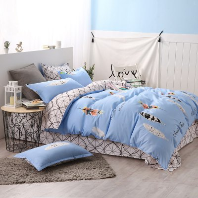 weina 4-piece Cotton Warm Leaves Pattern Bedding SetBedding Sets<br>weina 4-piece Cotton Warm Leaves Pattern Bedding Set<br><br>Brand: weina<br>Category: Bedding Set<br>For: All<br>Material: Cotton<br>Occasion: Bedroom<br>Package Contents: 1 x Quilt Cover, 1 x Bed Sheet, 2 x Pillow Case<br>Package size (L x W x H): 50.00 x 40.00 x 5.00 cm / 19.69 x 15.75 x 1.97 inches<br>Package weight: 2.8000 kg<br>Product size (L x W x H): 50.00 x 40.00 x 5.00 cm / 19.69 x 15.75 x 1.97 inches<br>Product weight: 2.5000 kg<br>Type: Comfortable